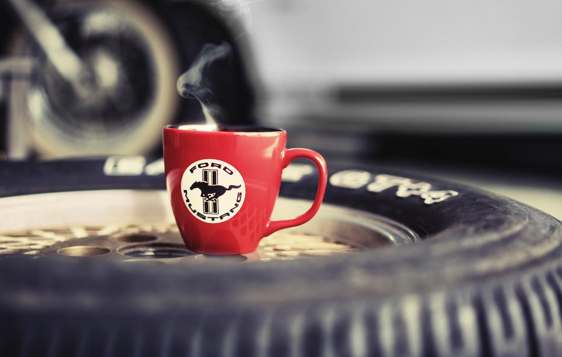 Ford Mustang Kaffee Tasse