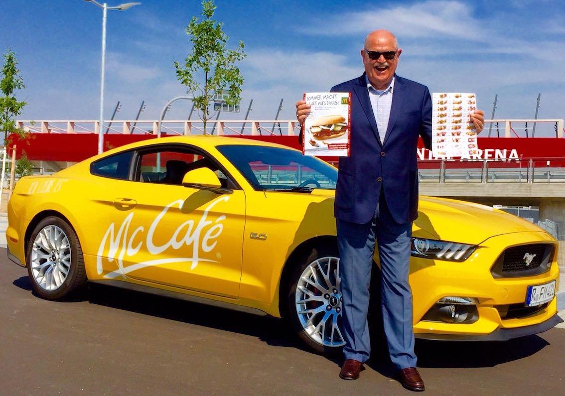 Ford Mustang Frank Mosher Regensburg