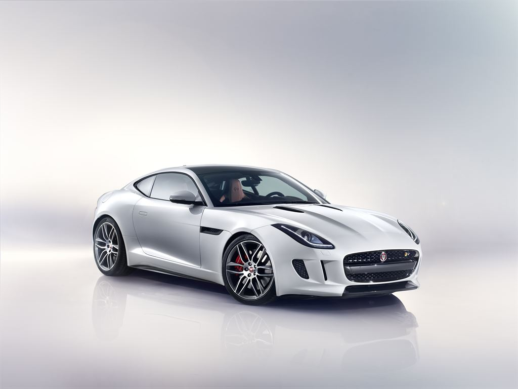 Jaguar F-TYPE R Coupe Polaris