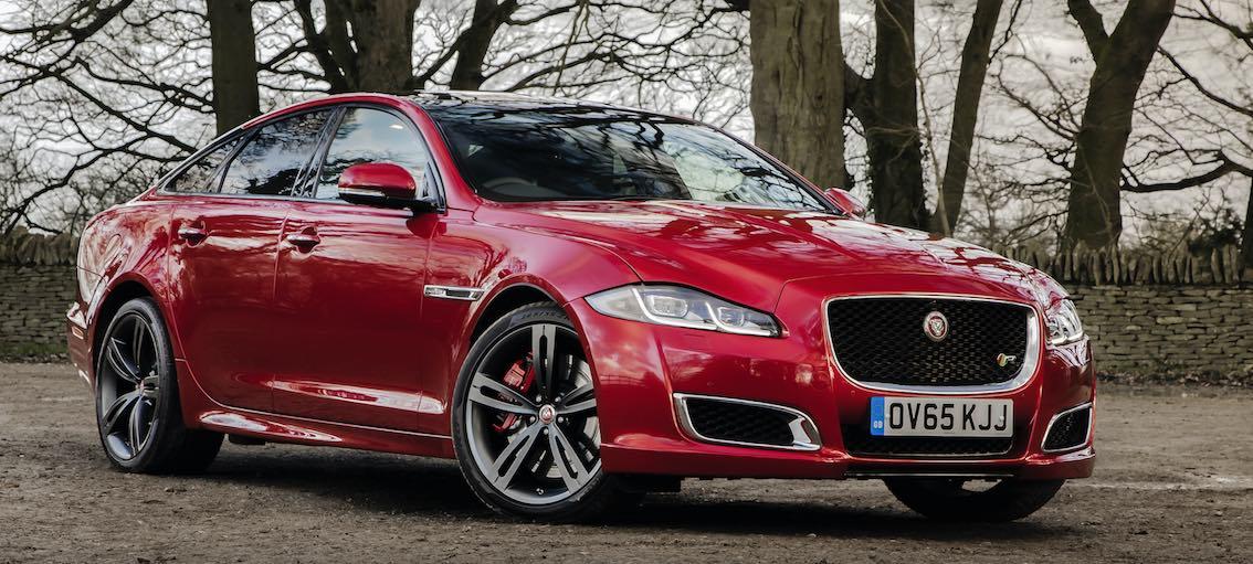 Jaguar XJ 2017 rot front