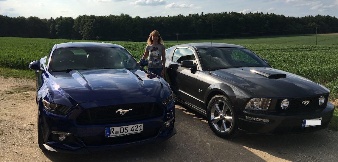 Mustang Probefahrt Frau Regensburg