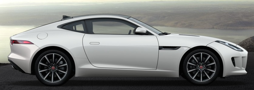 F Type Coupe weiss kaufen