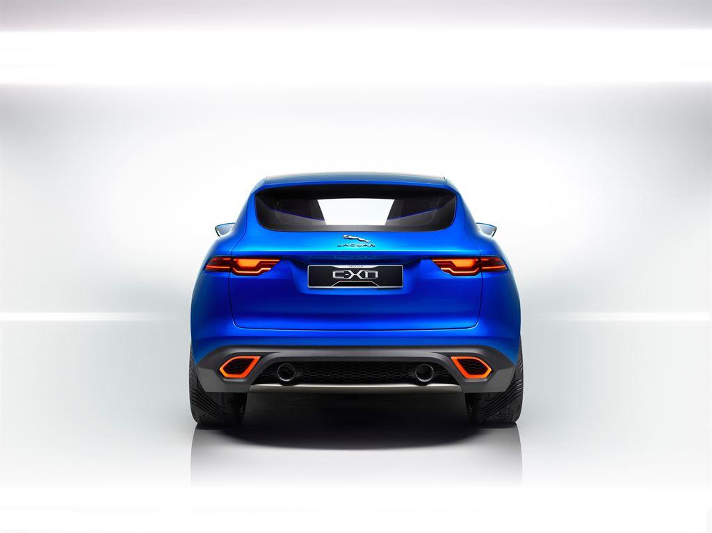 Jaguar SUV Blau Geländewagen