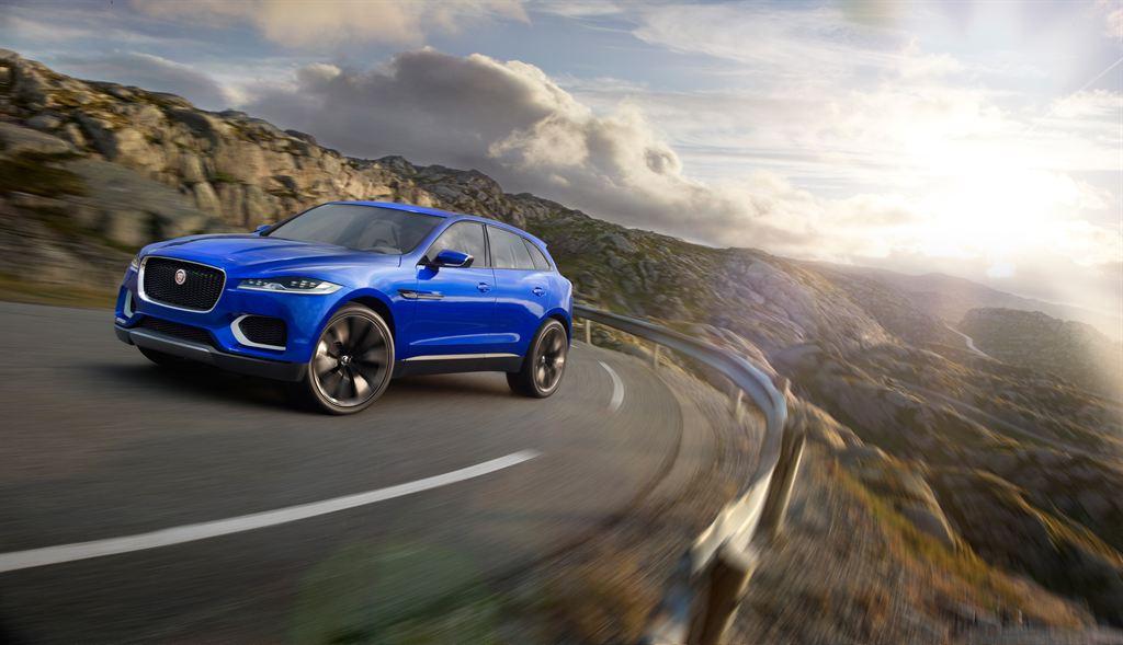 Jaguar Geländewagen Blau Vorbestellen