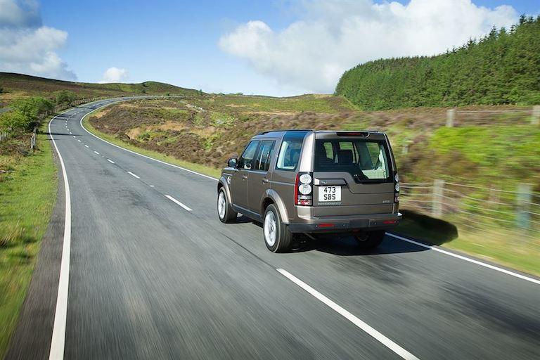 Land Rover Discovery 4, 2015 hinten