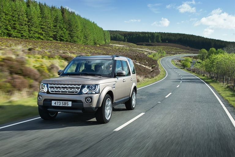 Land Rover 2015 seitlich Discovery 4