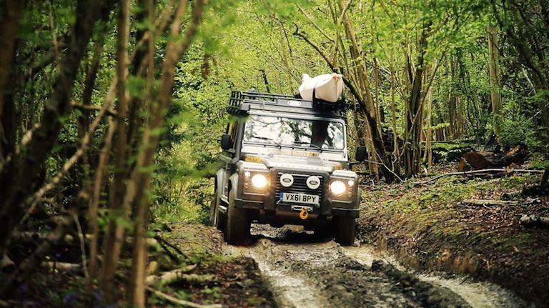 Land Rover Defender Gelände