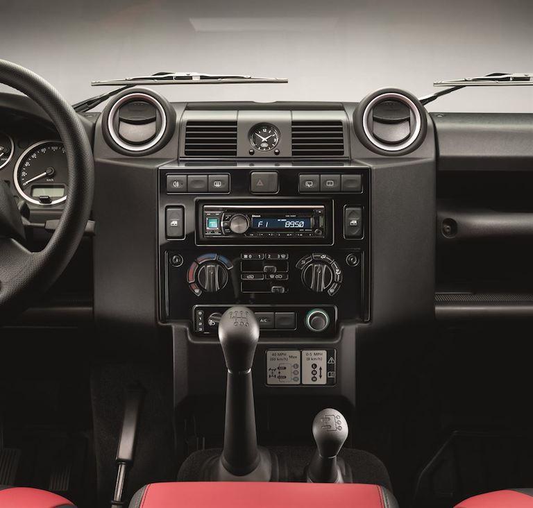 Land Rover Defender Innenausstattung