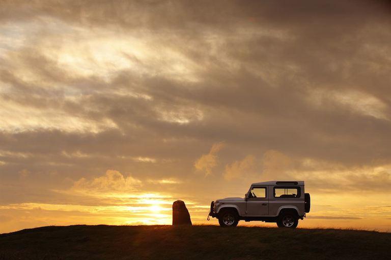 Land Rover Defender Wüste
