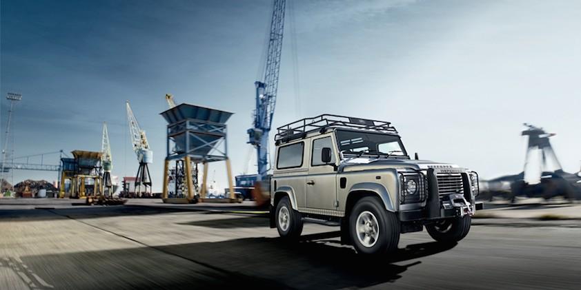 Land Rover Defener 2014 silber
