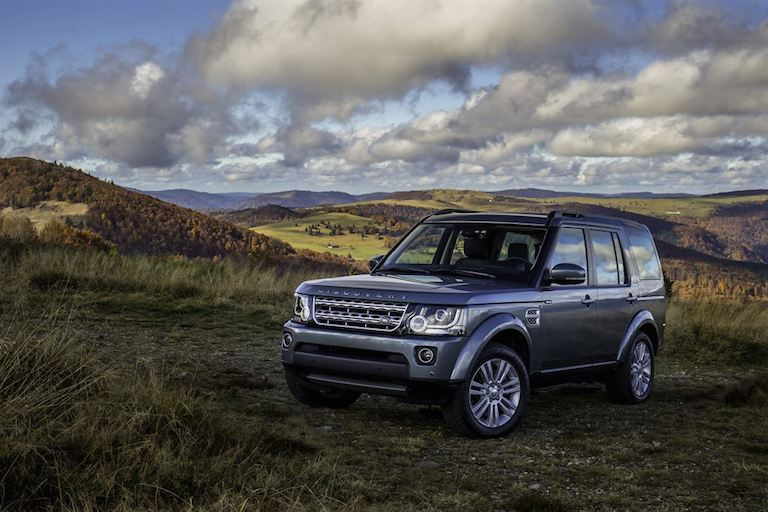 Land Rover Discovery 2014 blau