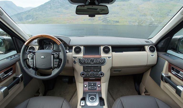 Land Rover Discovery 2015 Innenausstattung