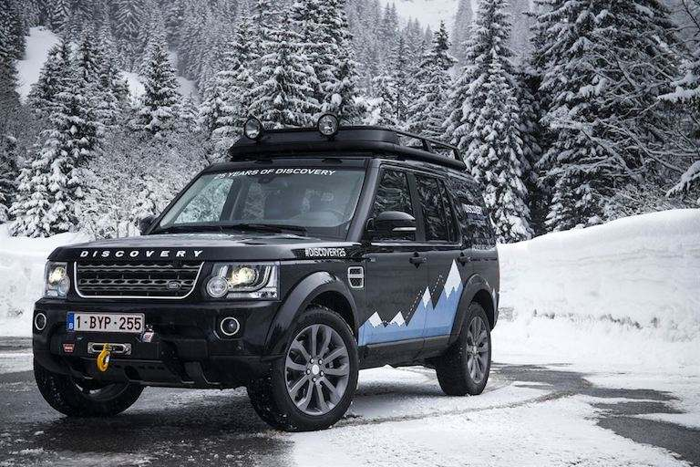 Land Rover Discovery 4 Winter
