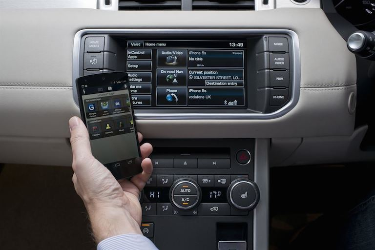 Range Rover Evoque Navi