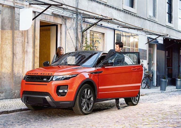 Range Rover Evoque Stadt