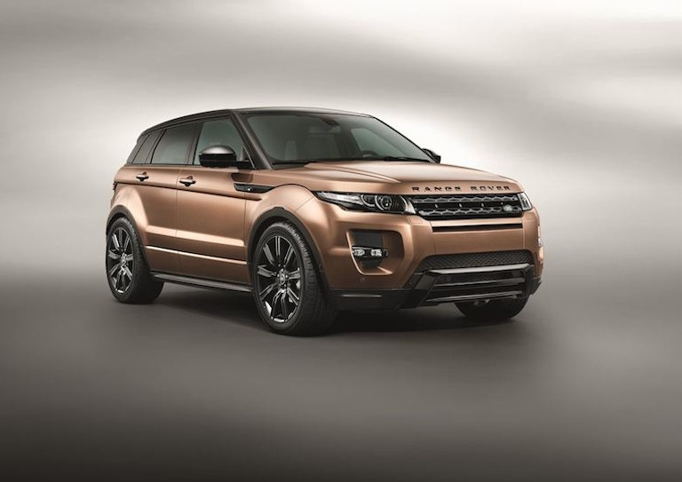 Range Rover Evoque bronze
