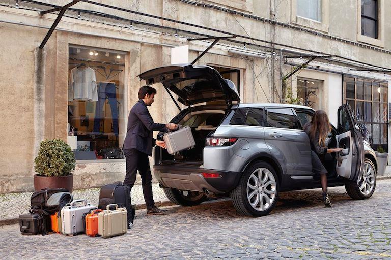 Range Rover Evoque einladen