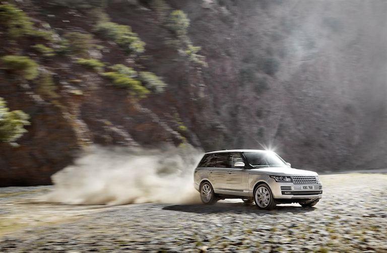 Range Rover Gelände