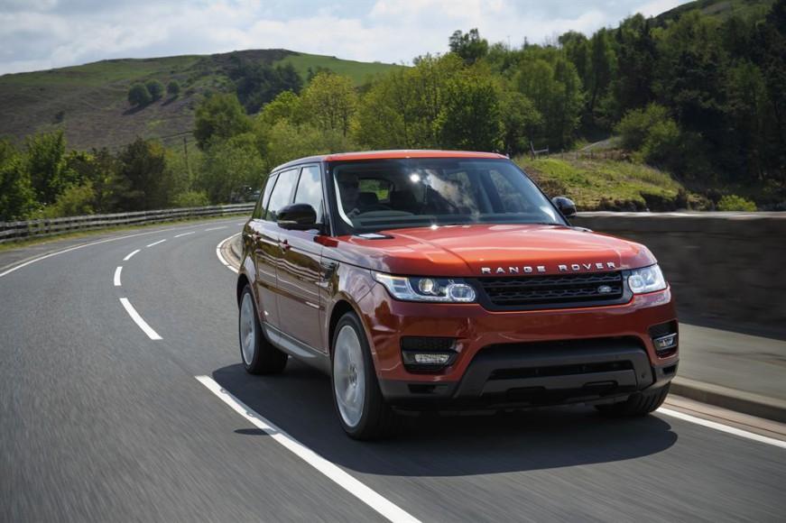 Range Rover Rot vorne