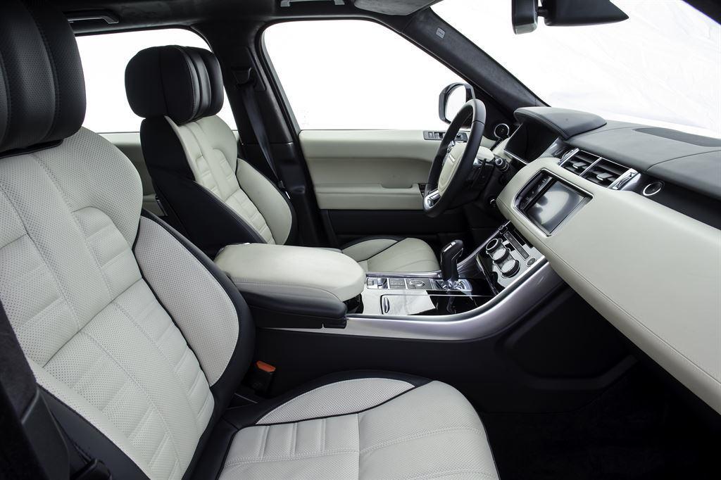 Range Rover Sport innen Leder weiss