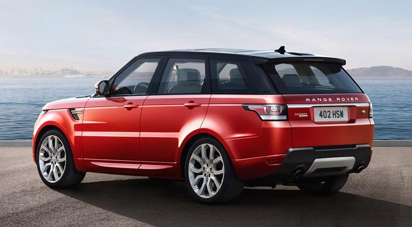 Range Rover Sport rot 2014