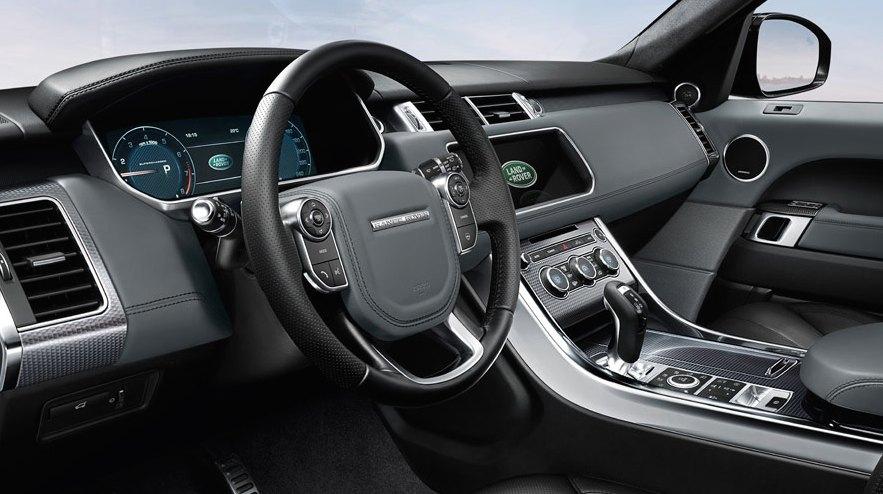 Range Rover Sport schwarz innen