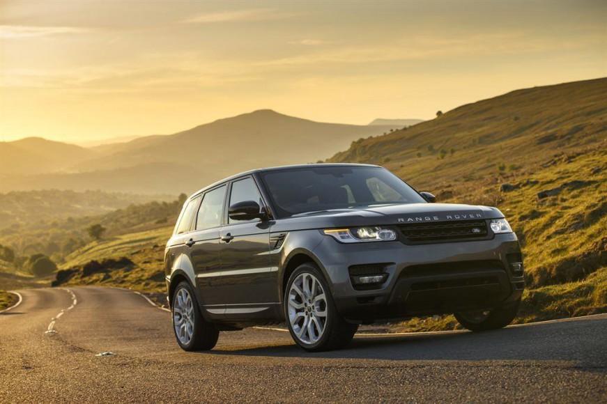 Range Rover Supercharged Grau vorne