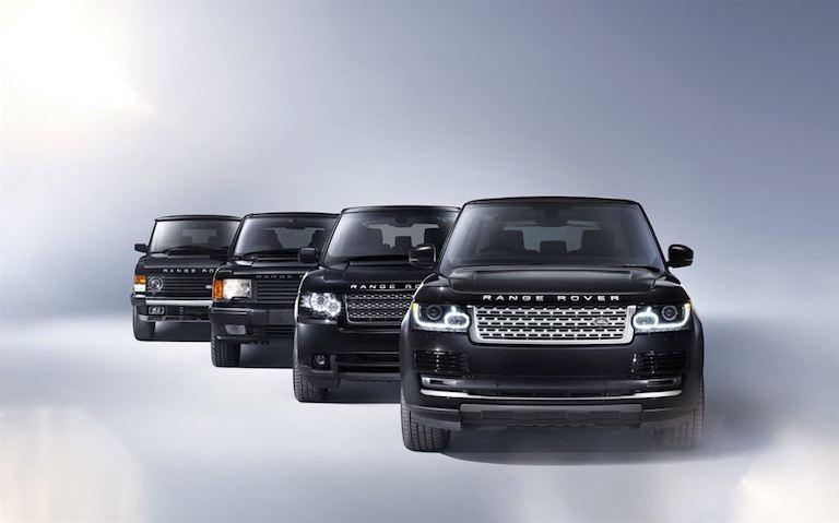 Range Rover alle Range Rover Modelle