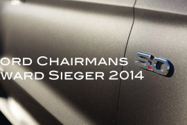 Ford Chairmans Award 2014