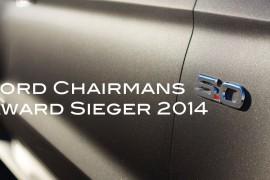 Ford Chairmans Award 2014