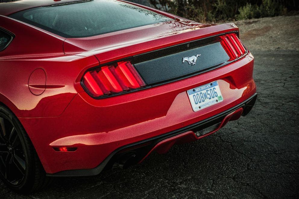 Ford Mustang 2015 hinten