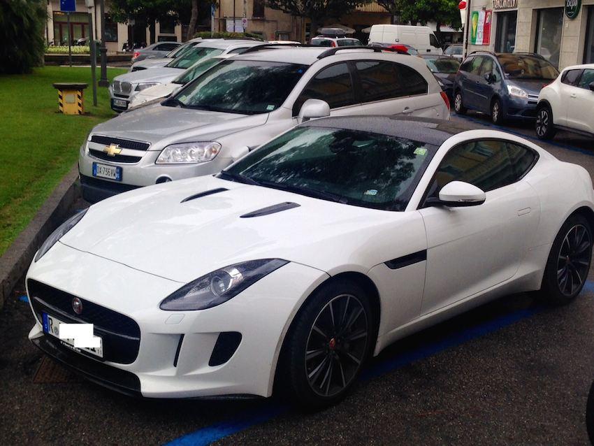 Jaguar F Type Coupe Gardasee