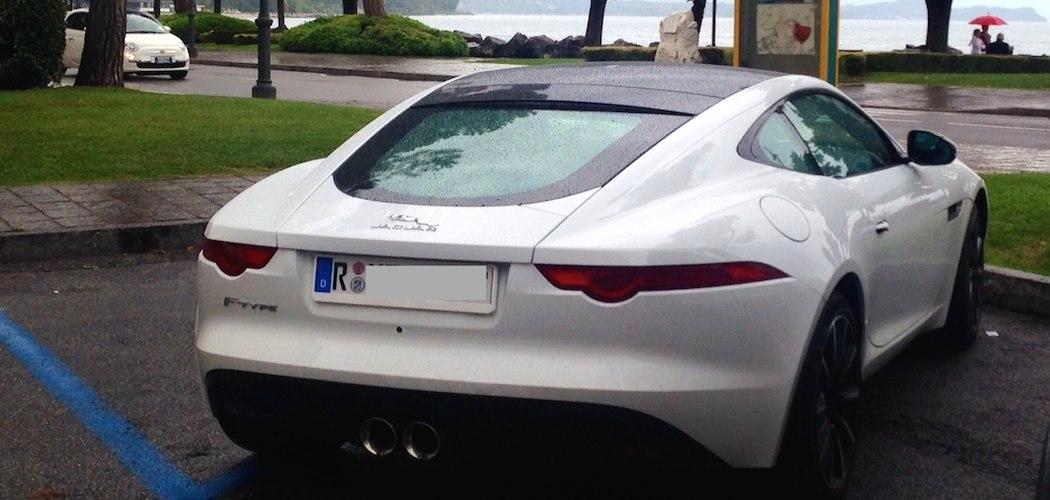 jaguar f type coupe zu porsche 911 reisebericht italien. Black Bedroom Furniture Sets. Home Design Ideas