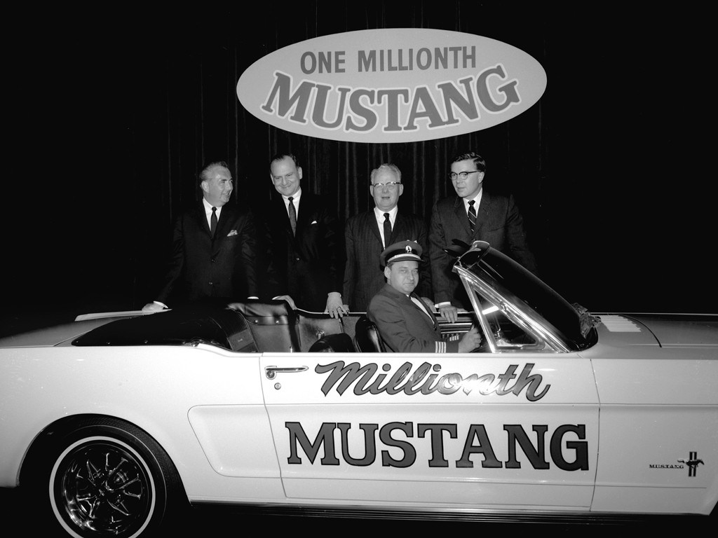 Ford Mustag 1 Million