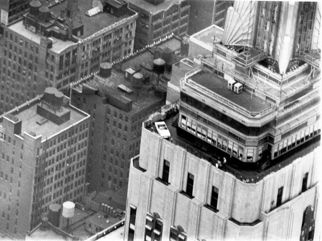 Ford Mustang 1966 Empire State Building