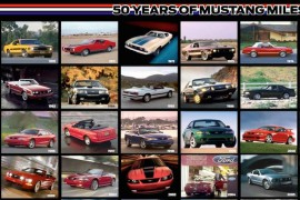 Ford Mustang 50 Jahre