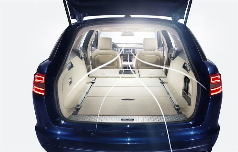 Jaguar XF Sportbrake probe fahrt