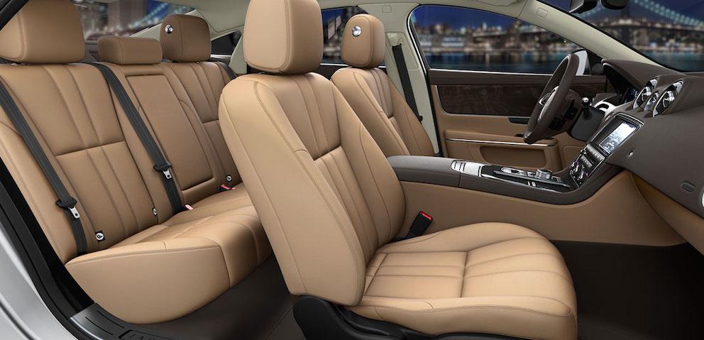 Jaguar XJ Ledersitze