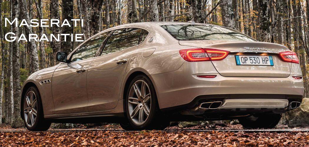 Maserati Gebrauchtwagen Garantie