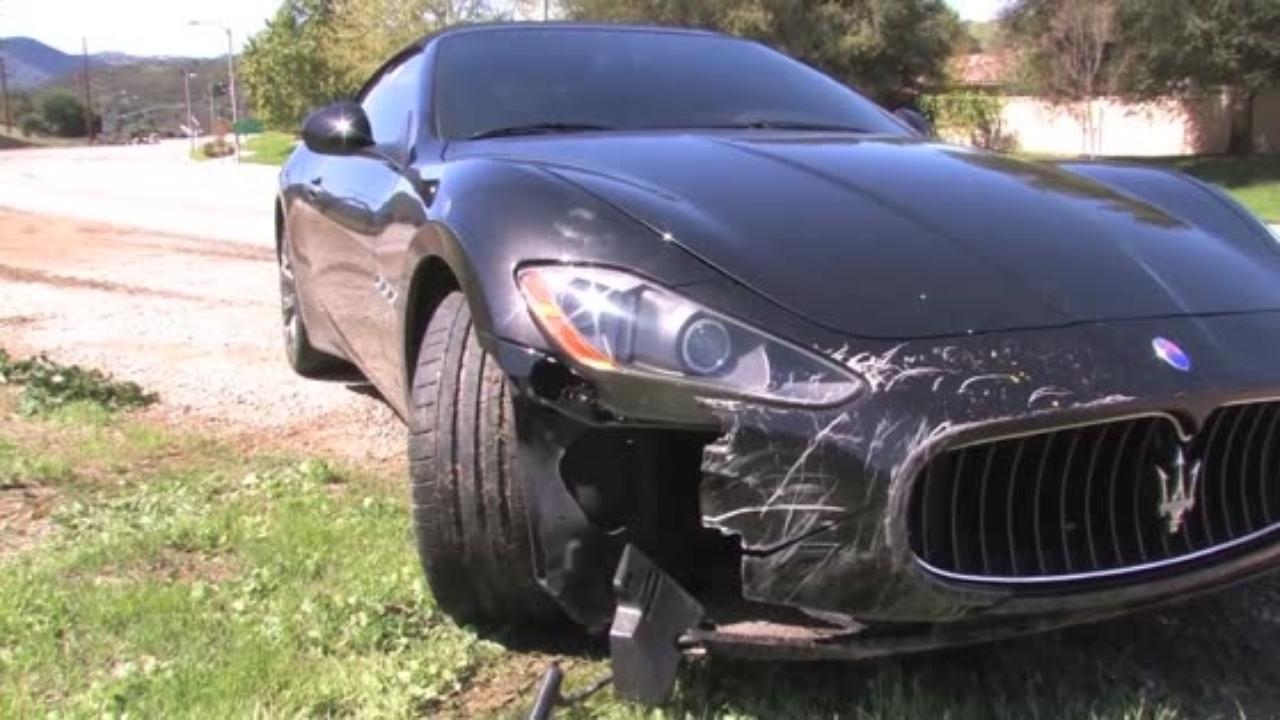 Maserati GranTurismo Unfall