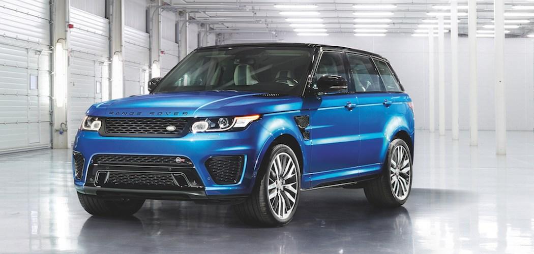 Range Rover Sport SVR Beitragsbild