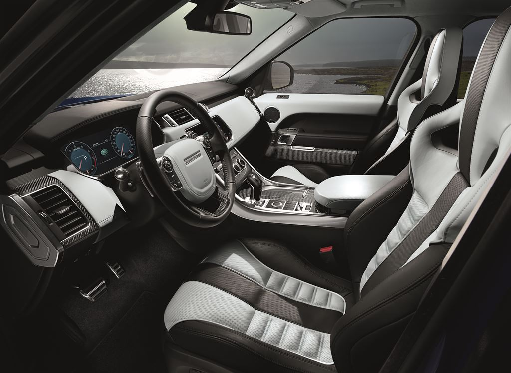 Range Rover Sport SVR Innenausstattung