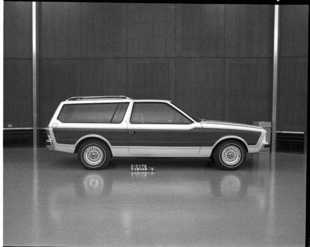 Ford Mustang 1976 Kombi Design Vorschlag