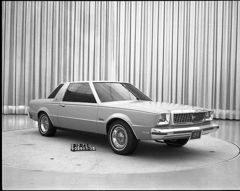 Ford Mustang 1976 interne Präsentation