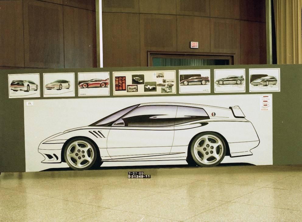 Ford Mustang 1989 geheimer Vorschlag