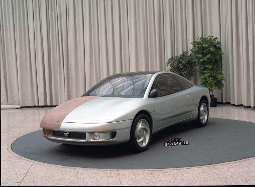 Ford Mustang 1989 Design Vorschlag