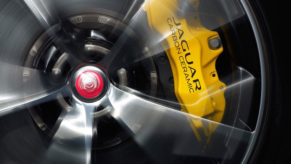 Jaguar F Type Coupe Bremssattel