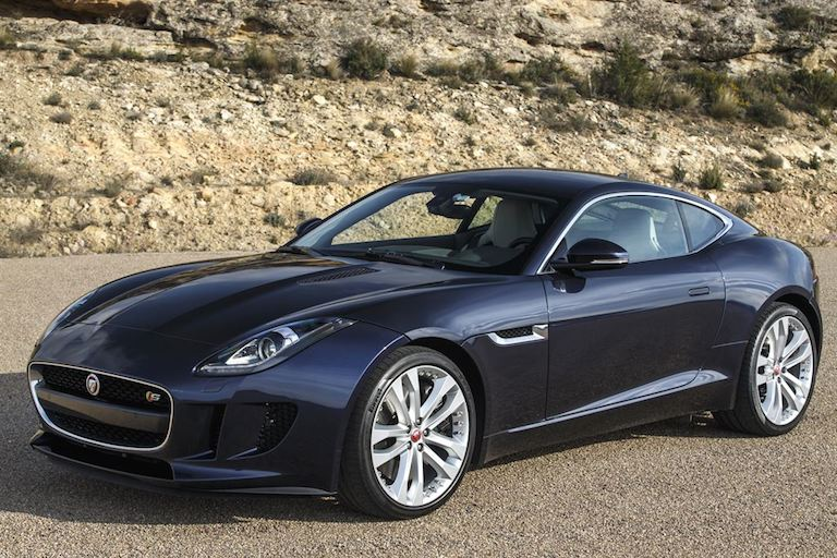 Jaguar F Type Coupe DarkSapphire