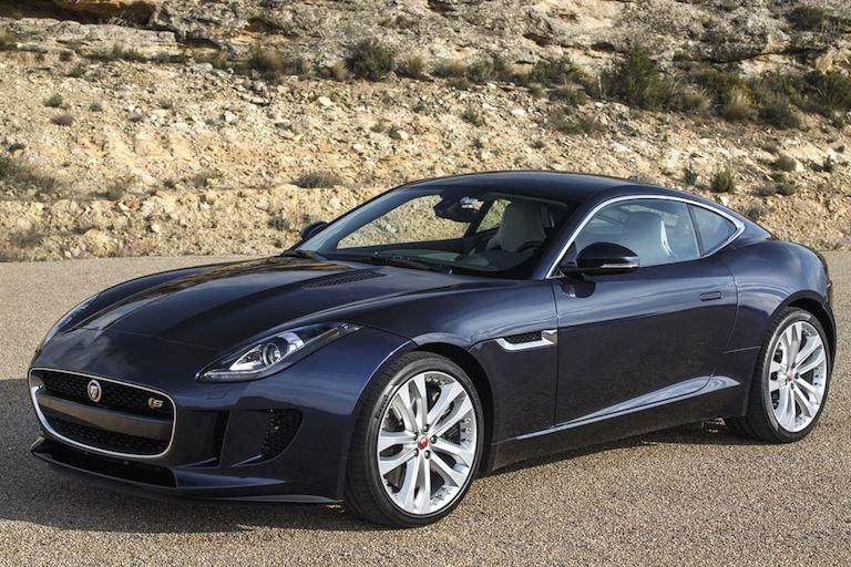 Jaguar F Type Coupe DarkSapphire