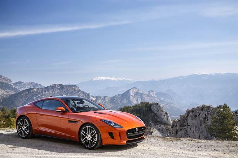 Jaguar F Type Coupe Firesand seite